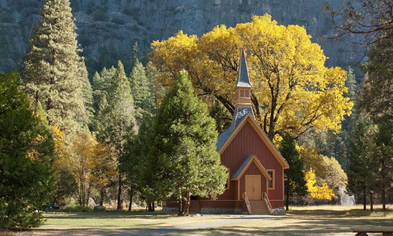 Yosemite National Park Chapel  AllTrips