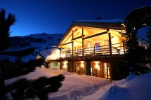 Switzerland Swiss Alps Chalet