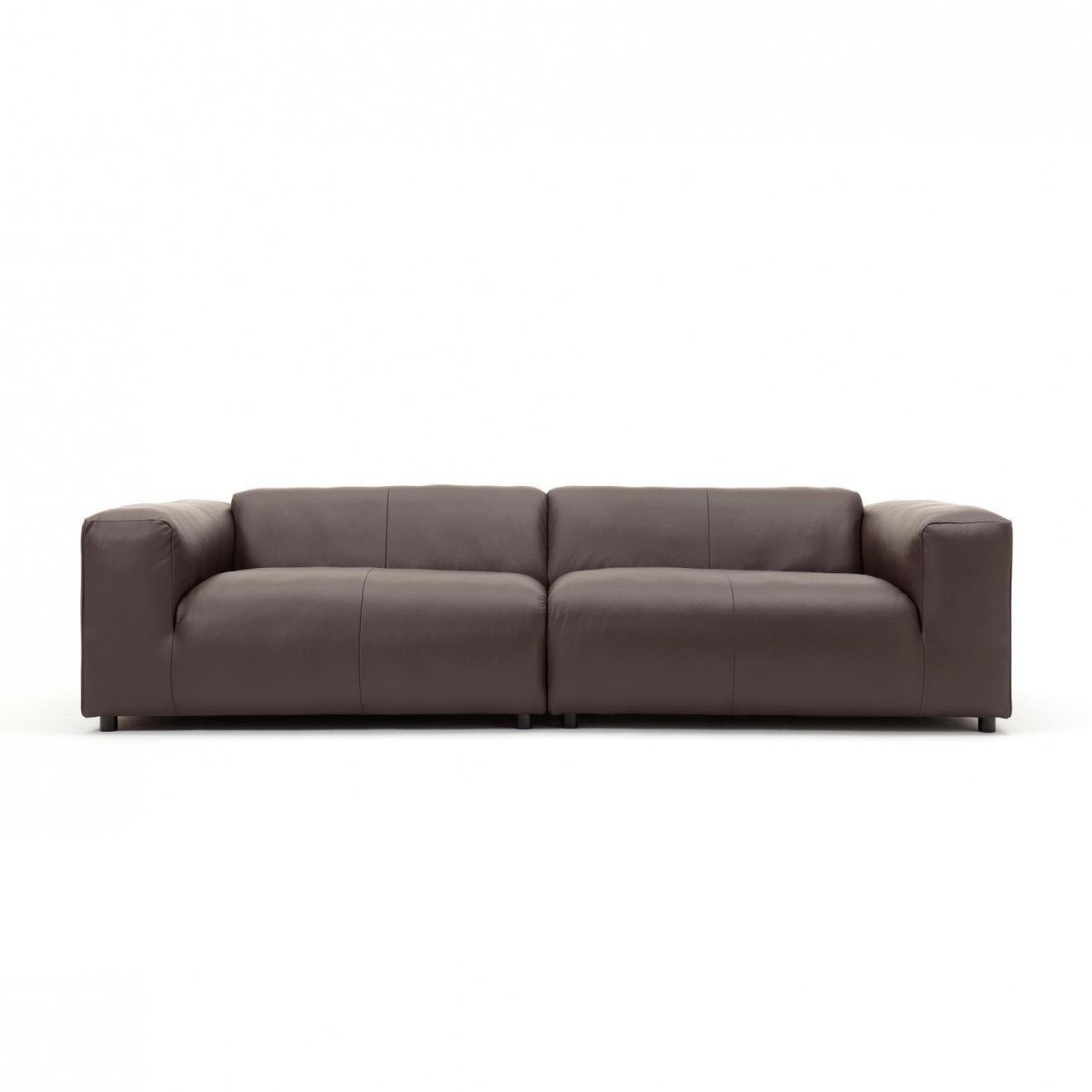 rolf benz freistil sofa no 180 bradington truffle review 187 3 seater leather ambientedirect 300x67x110cm