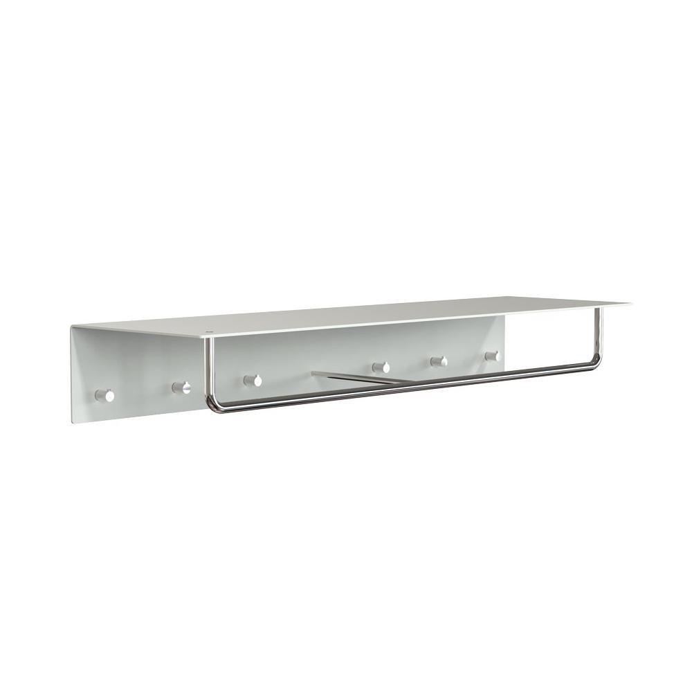 unu wall coat rack with 6 hooks bar