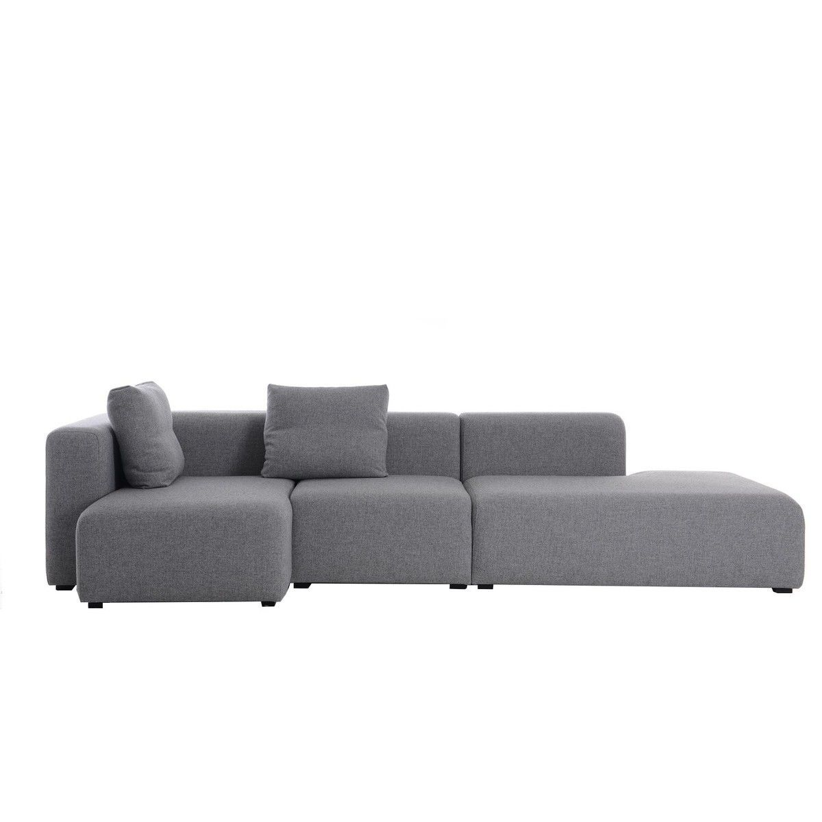 hay mags sofa fabrics denim fabric sectional sofas lounge ambientedirect