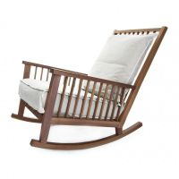 Gray 09 Rocking Chair | Gervasoni | AmbienteDirect.com