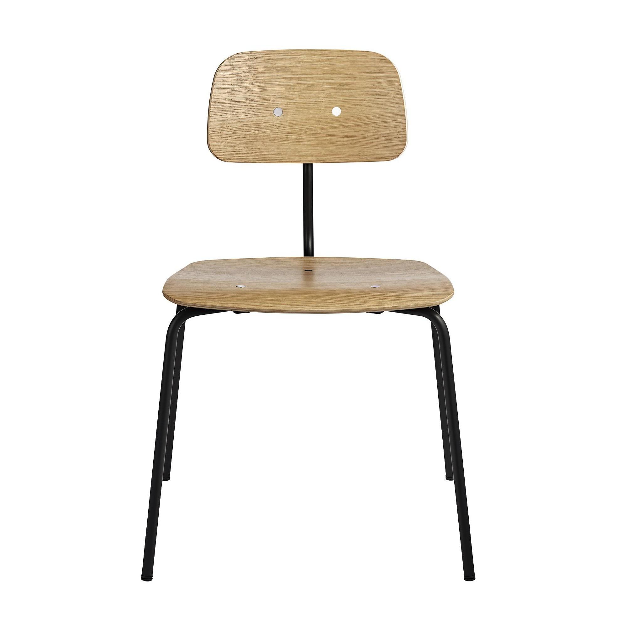 air chair frame xkcd desk engelbrechts kevi 2060 ambientedirect oak hxwxd 79x53x51cm black
