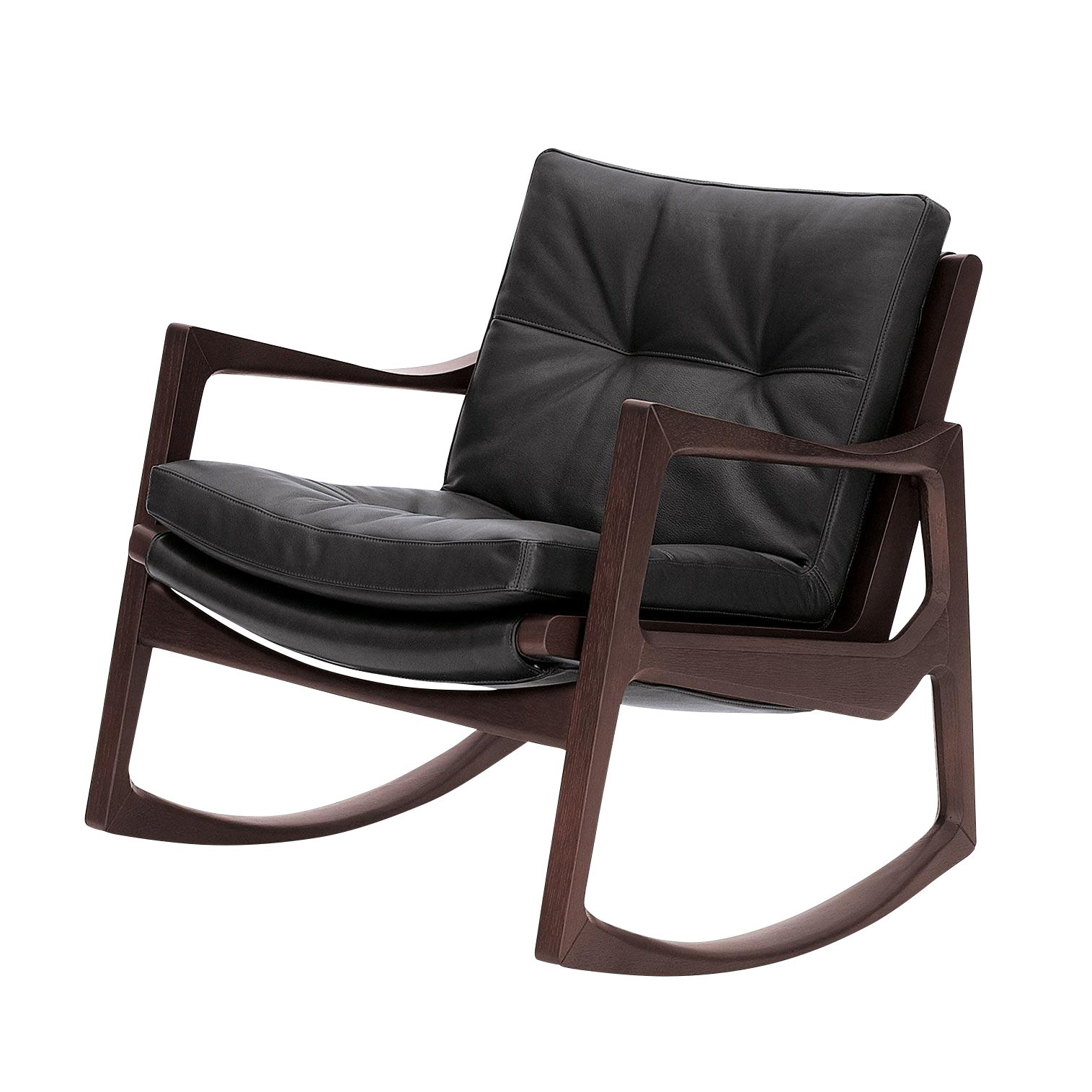 Leather Rocking Chair Euvira Rocking Chair