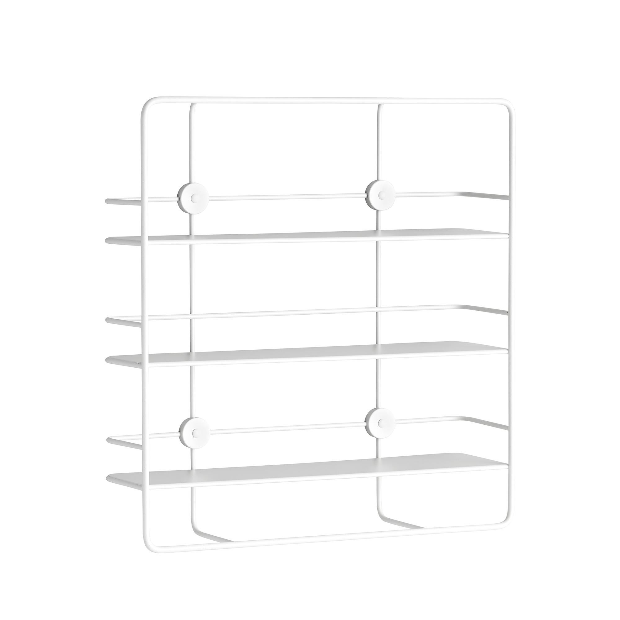 woud coupe rectangulaire etagere murale