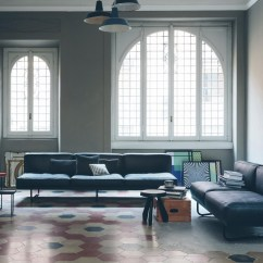 Lc5 Sofa Price Hiltons Sectional With Sleeper And Storage Charcoal Linen Cassina Le Corbusier 3 Seater Ambientedirect