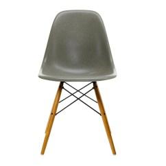 Eames Fiberglass Chair La Z Boy Lift Remote Vitra Side Dsw Golden Maple Ambientedirect