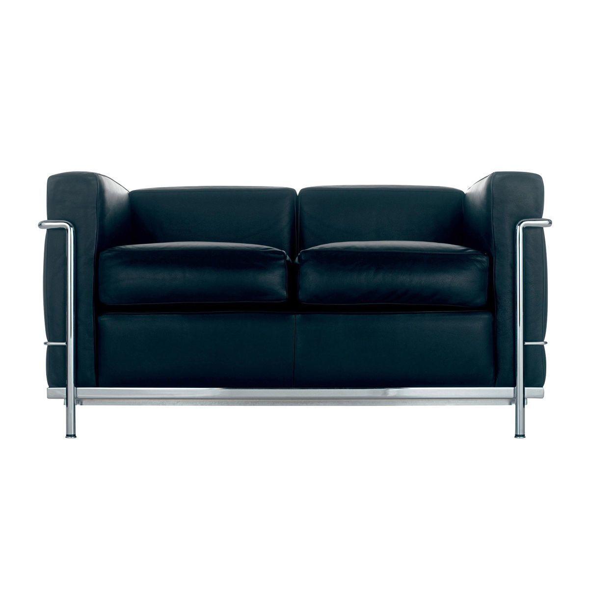 eames chair cushion u shaped glides le corbusier lc2 sofa cassina   ambientedirect.com