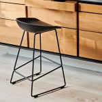 Hay About A Stool Aas 38 Bar Stool Low Black Base Ambientedirect