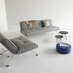 Clubber Sofa Bed Table Turned Legs Innovation Ambientedirect