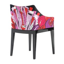 Design Chair Kartell Faux Leather Repair Kit Madame Pucci Armchair Ambientedirect