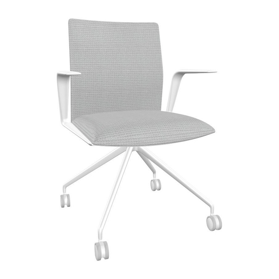 Eggshell Chair Kinesit 4825 Office Chair With Armrests