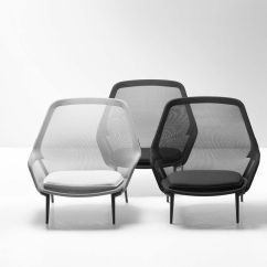 Vitra Lounge Chair Office Yoga Youtube Slow And Ottoman Ambientedirect
