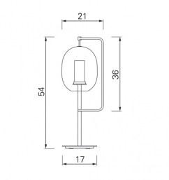 classicon lantern light led tischleuchte strichzeichnung [ 950 x 950 Pixel ]