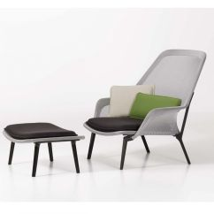 Vitra Lounge Chair Swivel Living Room Chairs Canada Slow And Ottoman Ambientedirect