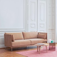 HAY Silhouette 2 Sitzer Sofa Fe Stahl | AmbienteDirect
