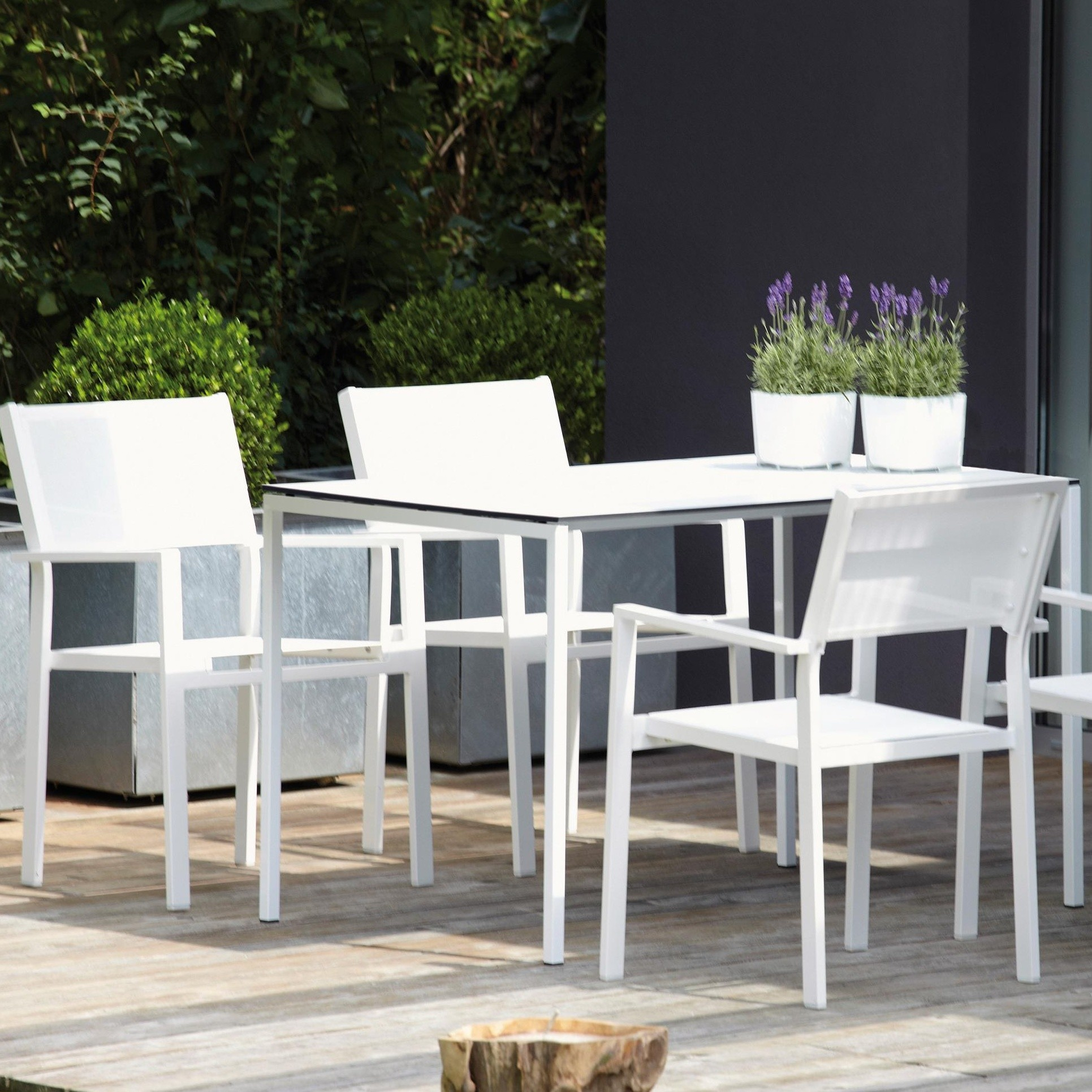Jan Kurtz Cubic Jan Kurtz Cubic Garden Armchair Set Of 4 | Ambientedirect