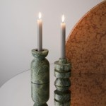 Tom Dixon Rock Candle Holder M Set Of 2 Ambientedirect