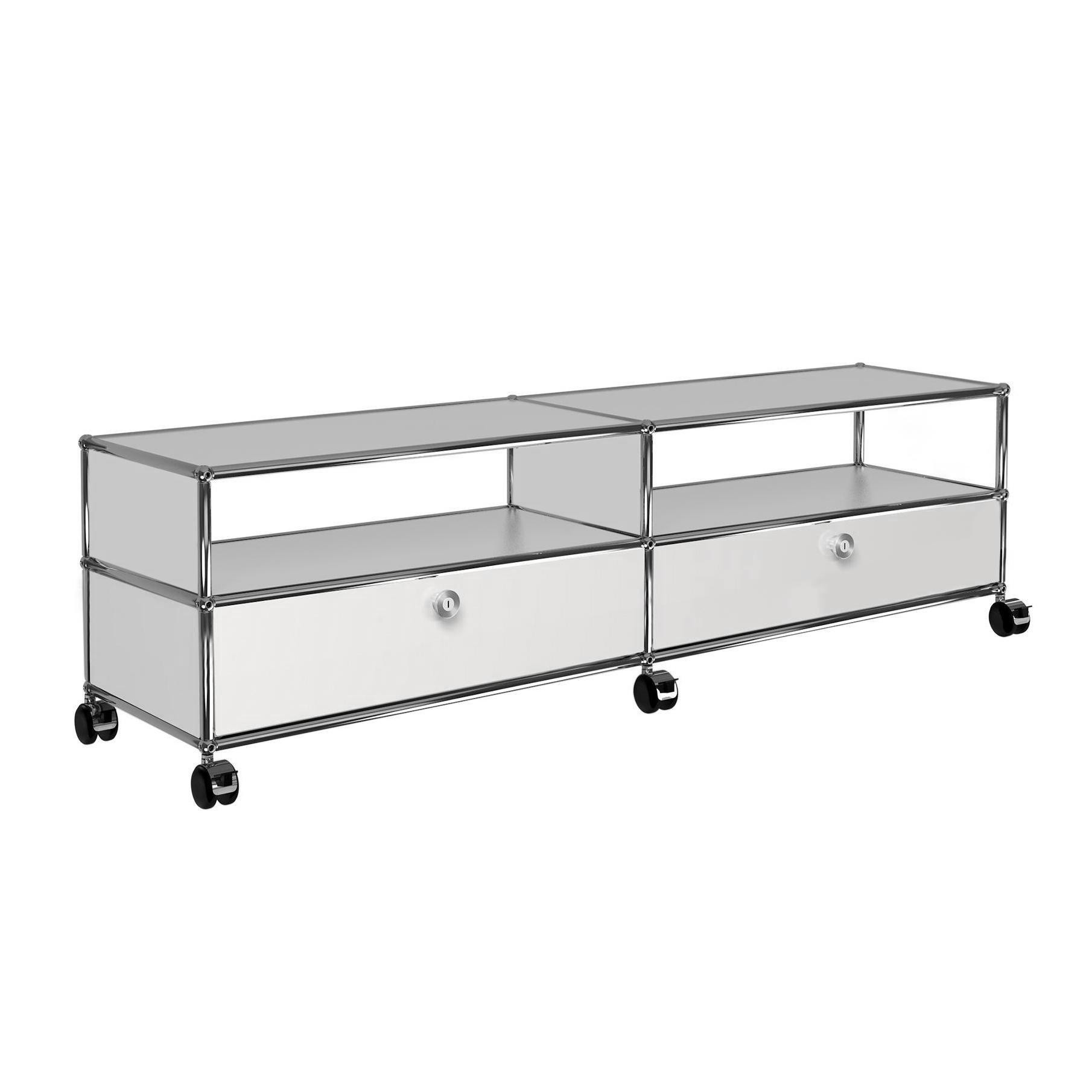 Tv Rack Mit Rollen Usm Tv/hi-fi Sideboard With 2 Drawers | Ambientedirect