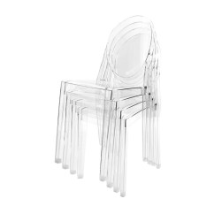 Victoria Ghost Chair Outdoor Lounge Chairs Target Kartell Set Of 4 Ambientedirect