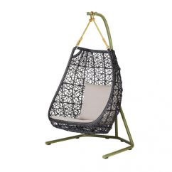 Hanging Egg Chair Jysk Suvs With Captains Chairs Maia Swing Kettal Ambientedirect
