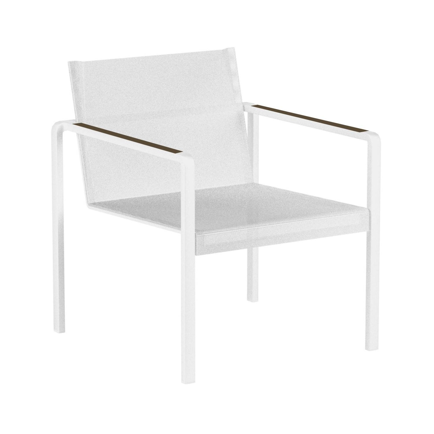 White Outdoor Lounge Chair Alura Outdoor Lounge Chair