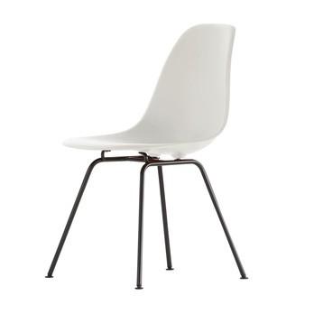 black side chair hd brow vitra eames plastic dsx base ambientedirect frame h43cm