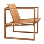 Carl Hansen Bk11 Outdoor Lounge Chair Ambientedirect