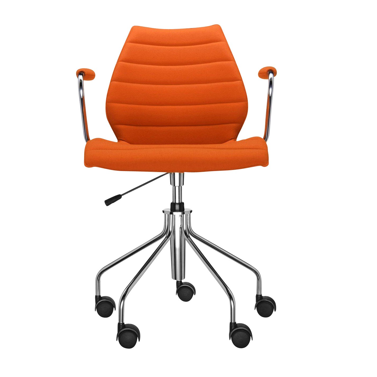 Orange Office Chairs Maui Soft Office Chair With Armrests