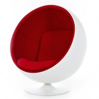 Ball Chair Lounge Chair | Adelta | AmbienteDirect.com