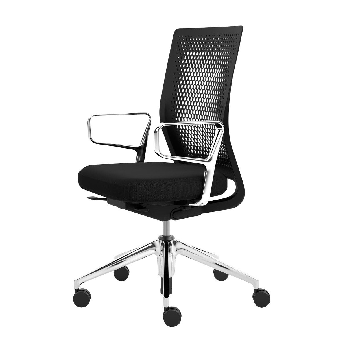 air chair frame herman miller side vitra id office with ring armrests