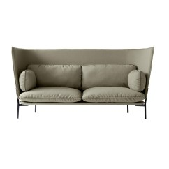 Hay Sofa Kvadrat Ashley Queen Size Sleeper Tradition Cloud High Back Ln7 With Ambientedirect Beige Fabric Fiord