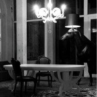 Moooi Horse Lamp Floor Lamp | Moooi | AmbienteDirect.com