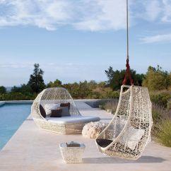 Swing Chair Patricia Urquiola Cheap Papasan Frame Maia Egg Hangstoel Kettal Ambientedirect
