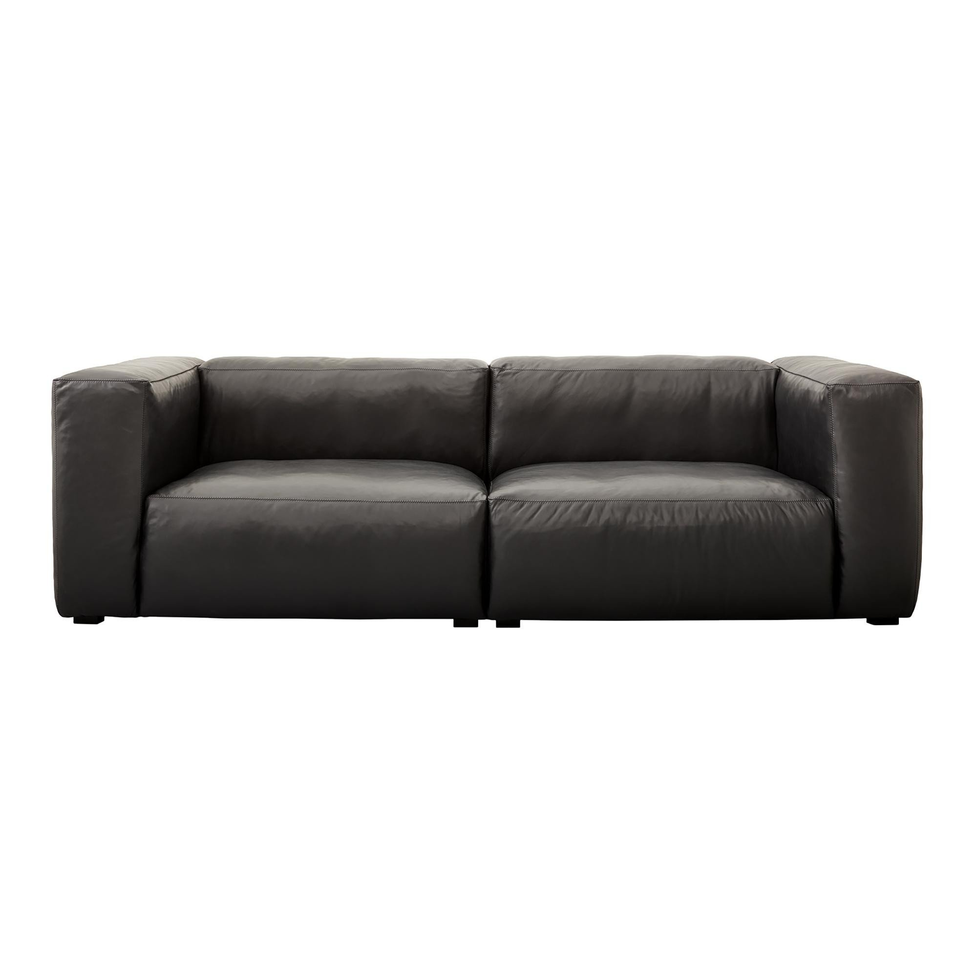 sofa with legs or without genuine leather set hay mags soft 2 5 seater ambientedirect