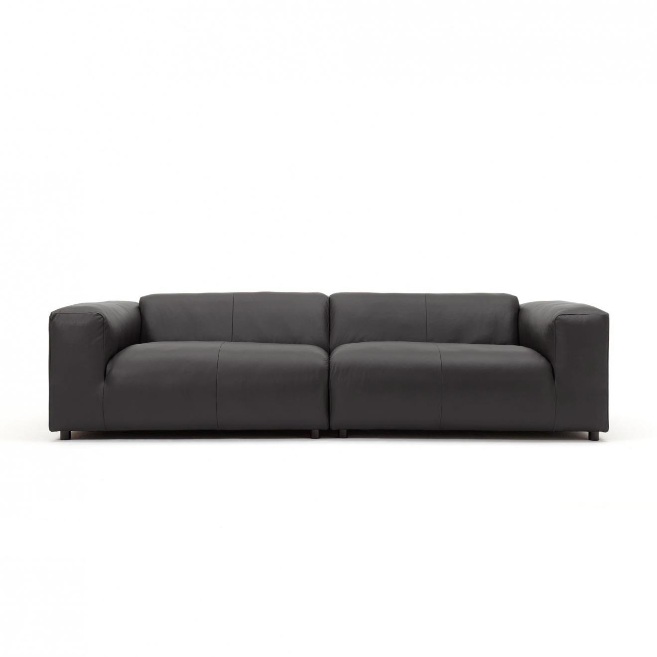 rolf benz freistil sofa no 180 cleaning los angeles 187 3 seater leather ambientedirect 300x67x110cm black