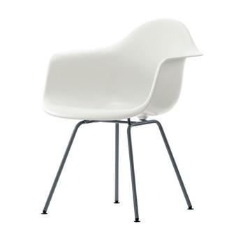 eames bucket chair gaming office depot vitra plastic dax black base ambientedirect frame h43cm white four legged