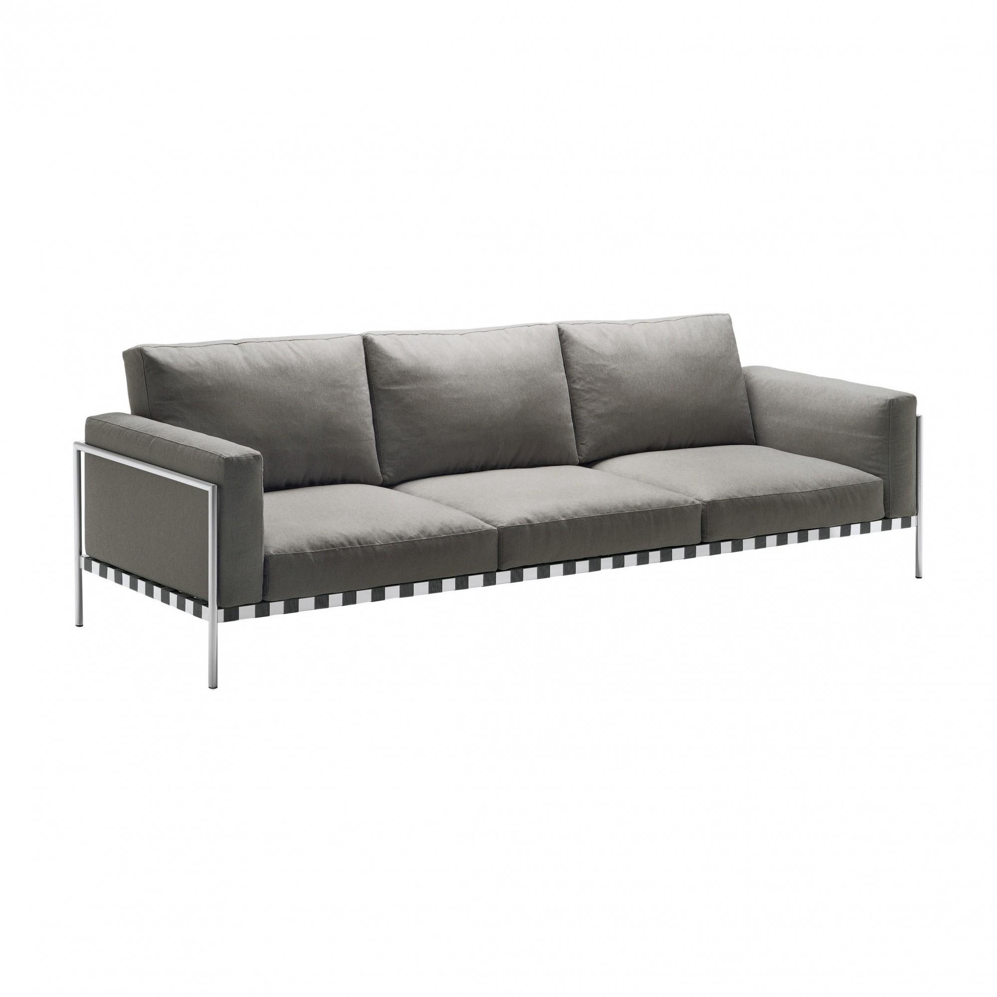 bauhaus sofas cama gray leather sofa set zanotta parco indoor 3 seater ambientedirect grey fabrics