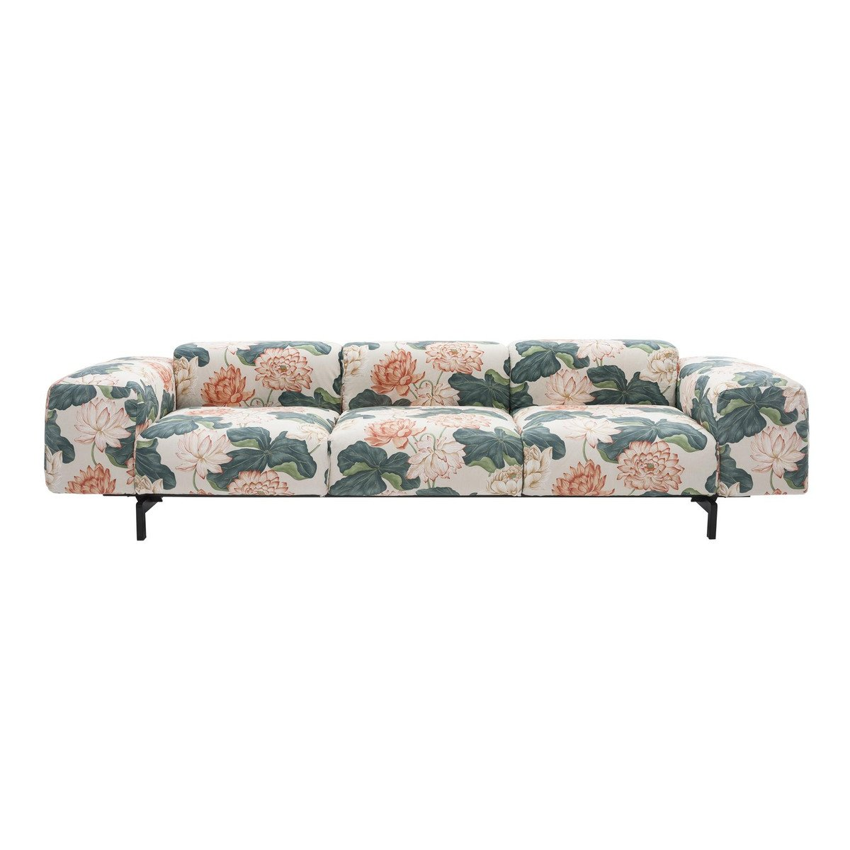 kartell sofa largo waiting room 3 sitzer ambientedirect