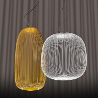 Spokes 2 LED Suspension Lamp