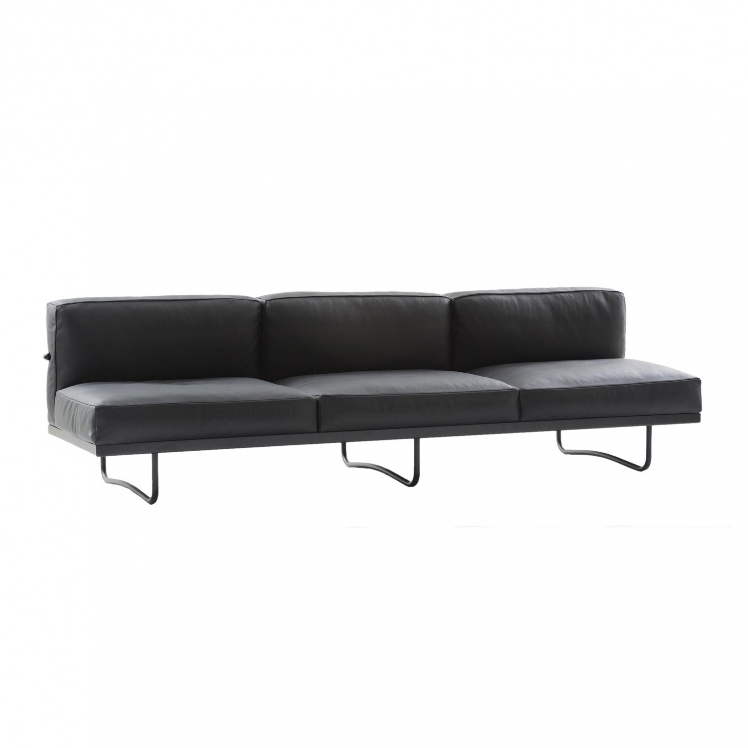 lc5 sofa price lee industries sofas and chairs cassina le corbusier 3 seater ambientedirect sitzer 256x78cm grafite