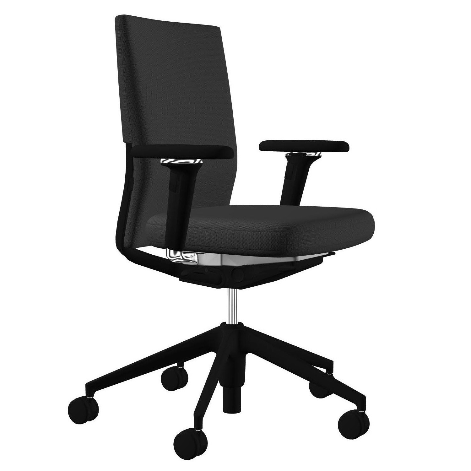 Vitra Office Chair Id Soft Office Chair Black Base