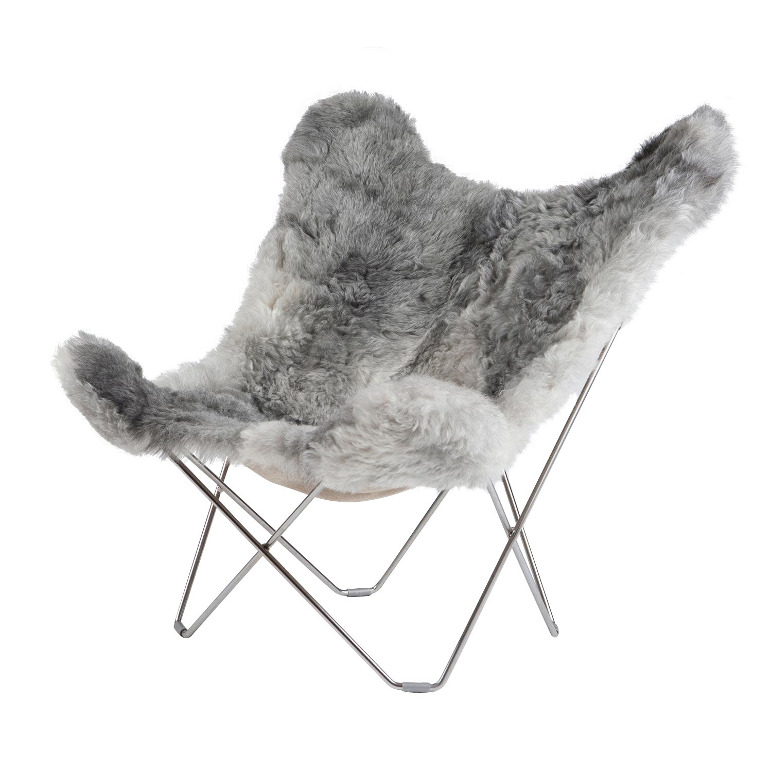 Fur Butterfly Chair Iceland Mariposa Butterfly Chair