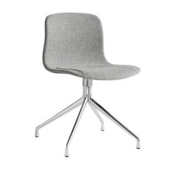 Quilted Swivel Chair Design Presentation Hay About A 11 Upholstered Ambientedirect Grey Fabric Hallingdal 130