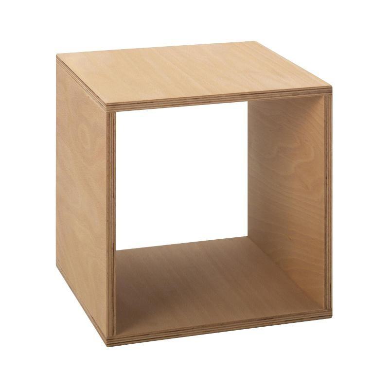 table de chevet cube 35x35cm
