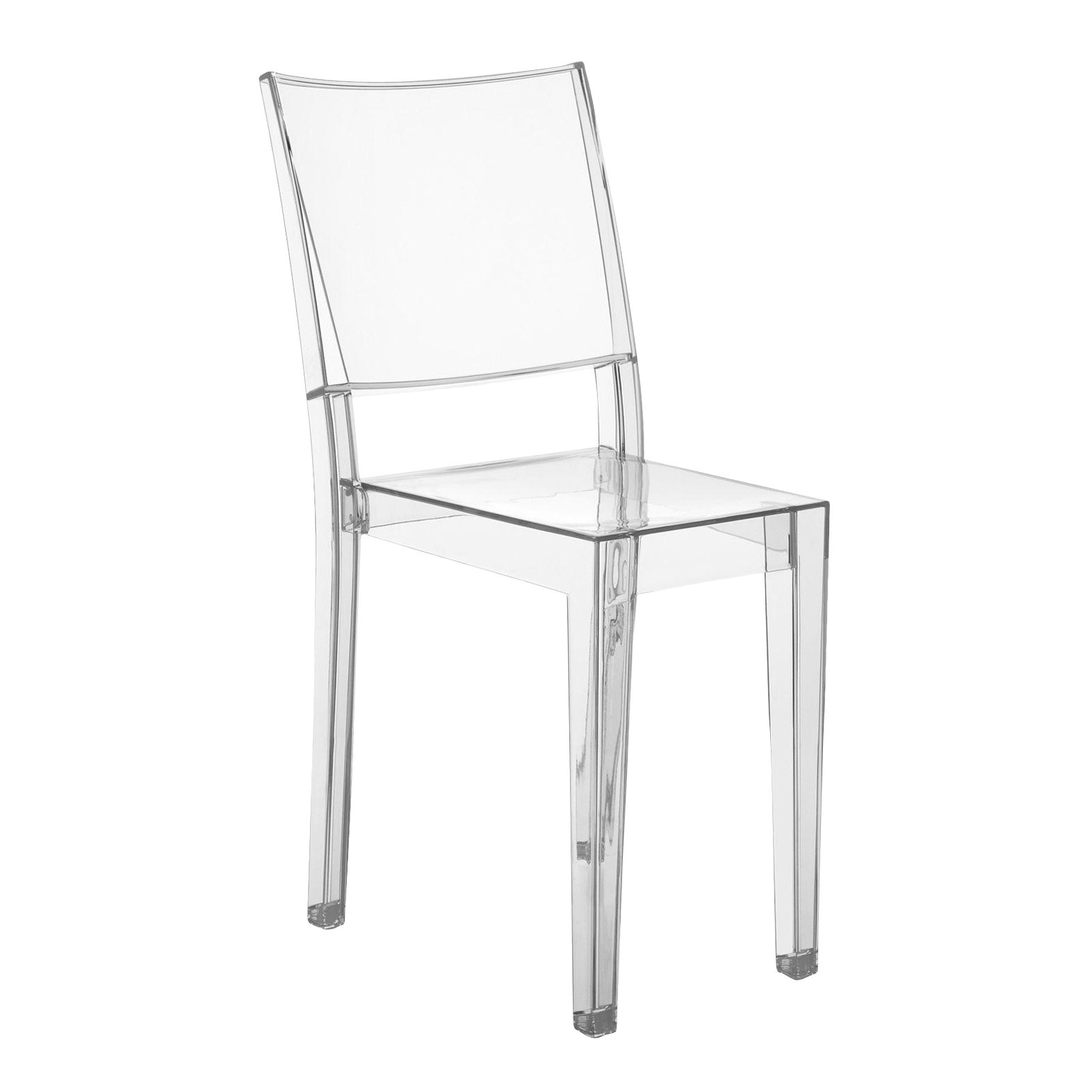 Plastic Clear Chair La Marie Chair