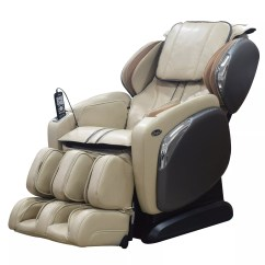 Osaki Massage Chair Dealers Office Race 4000ls Ivory Front Angle View