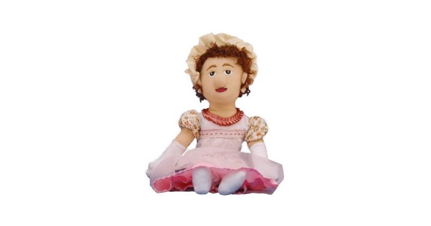 Jane Austen Little Thinker Doll | A Mighty Girl