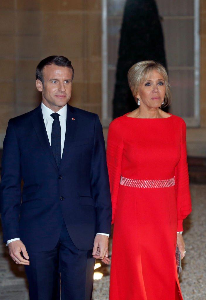 Taille De Brigitte Macron : taille, brigitte, macron, Brigitte, Macron, Valeur, Taille, Rouge, Rencontre, Président, Chinois