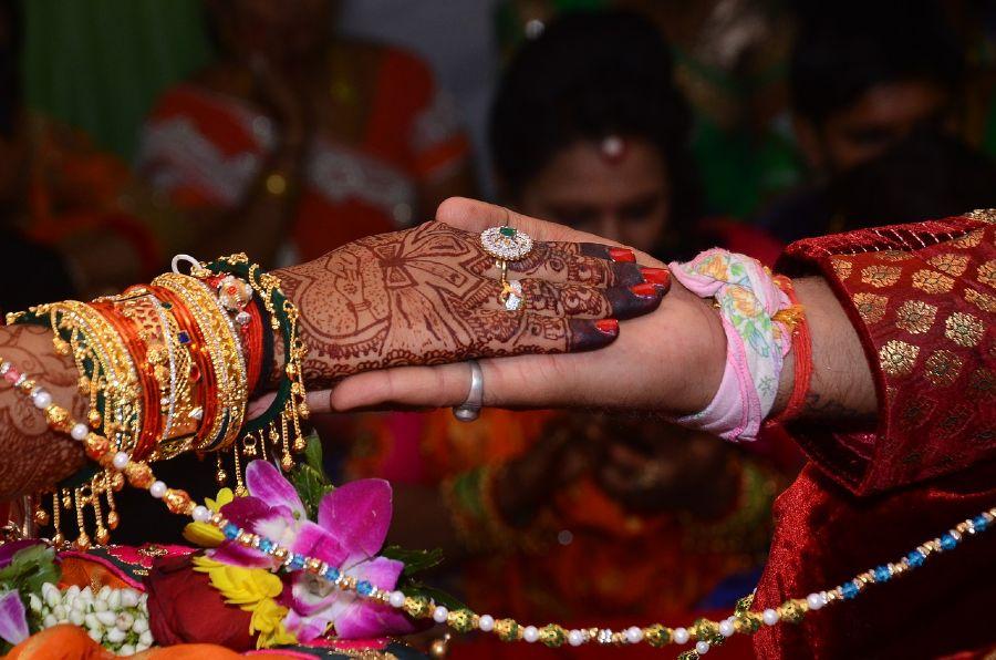 Cérémonie d'un mariage Hindou | Photo : Shutterstock